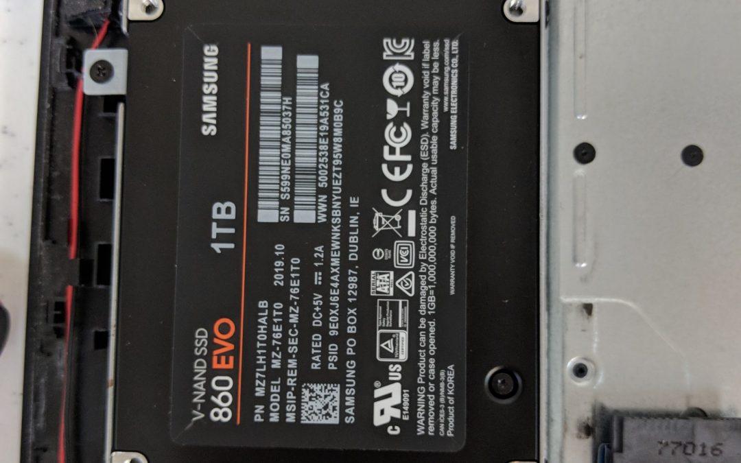 Rewarding HP Laptop Upgrade